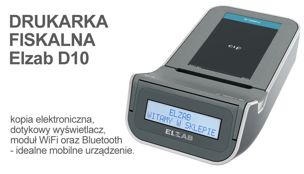 Mobilna Drukarka fiskalna Elzab D10